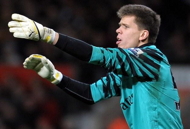 Wojciech Szczęsny, bramkarz Arsenalu Londyn /. /AFP