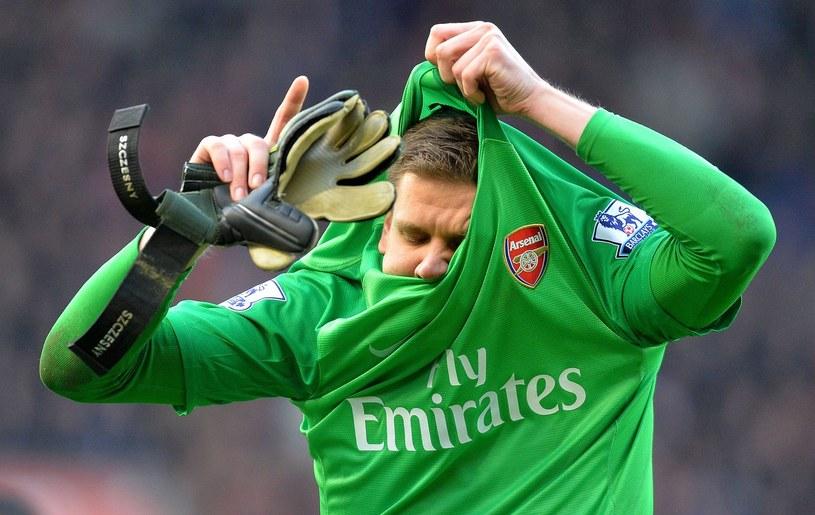 Wojciech Szczęsny, bramkarz Arsenalu /AFP