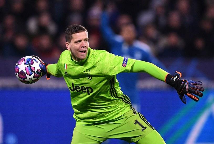 Wojciech Szczęsny broni barw Juventusu /AFP