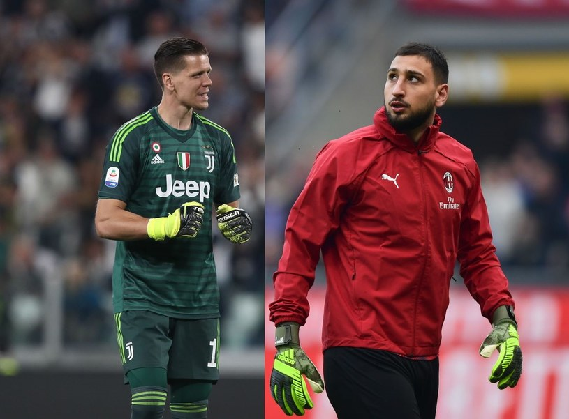 Wojciech Szczęsny czy Gianluigi Donnarumma - który z nich będzie w przyszłym sezonie bronił w Juventusie? /AFP