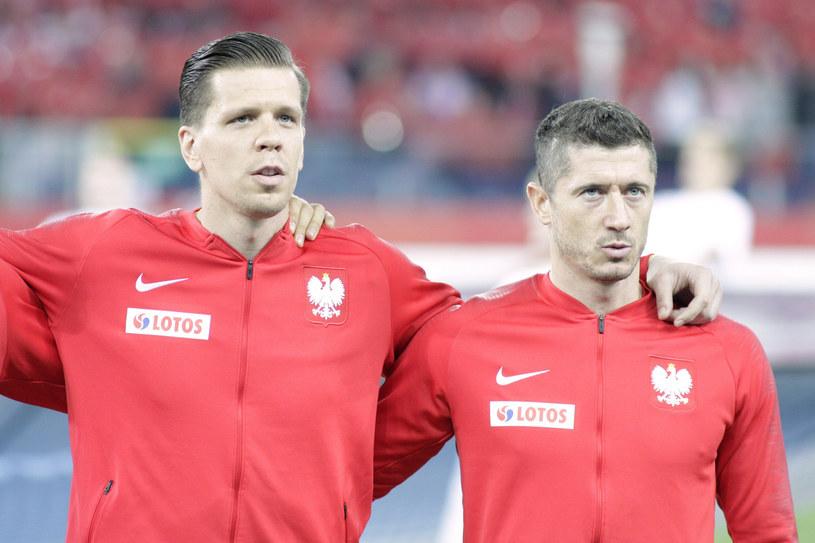 Wojciech Szczęsny i Robert Lewandowski /Adrian Slazok/ /East News