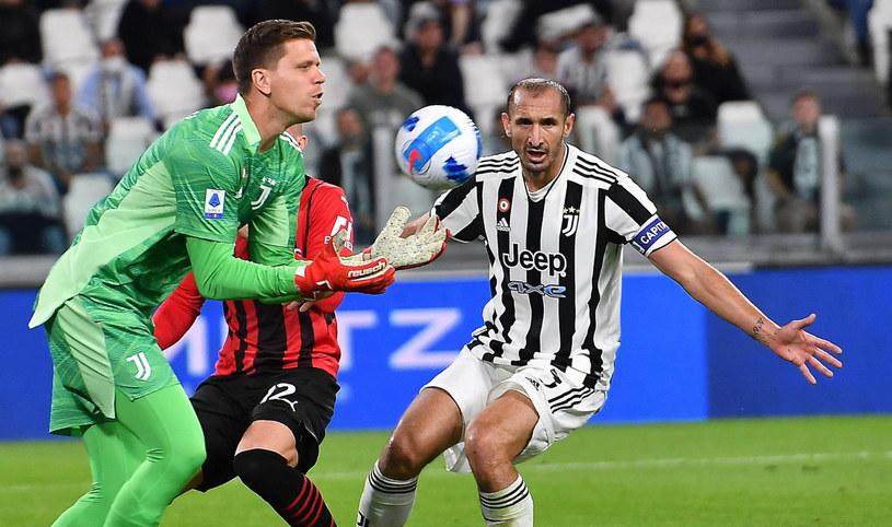 Wojciech Szczęsny pokazał się z dobrej strony w meczu z Milanem /ALESSANDRO DI MARCO  /PAP/EPA