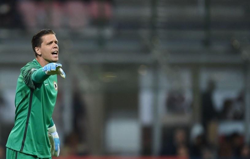 Wojciech Szczęsny w barwach rzymskiego klubu /AFP