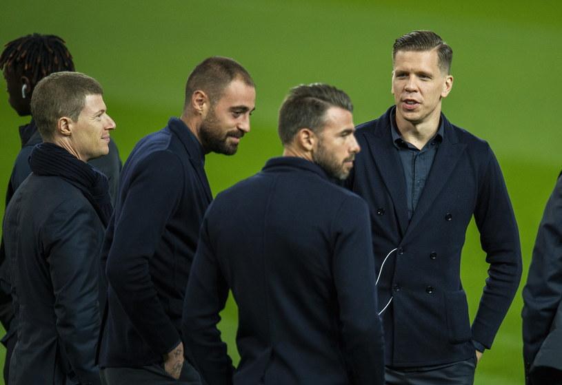 Wojciech Szczęsny w kolegami z Juventusu /PAP/EPA