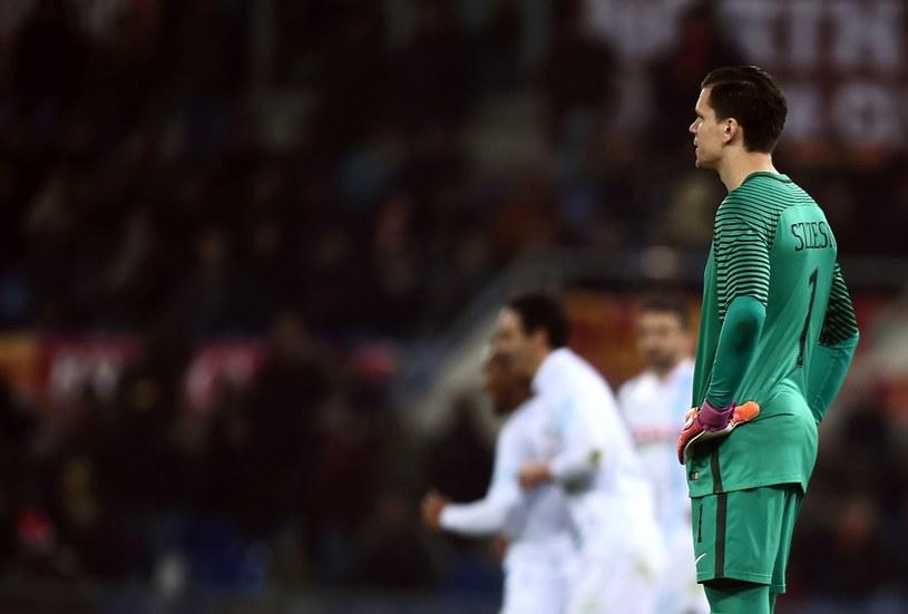 Wojciech Szczęsny w meczu z Chievo Verona /AFP