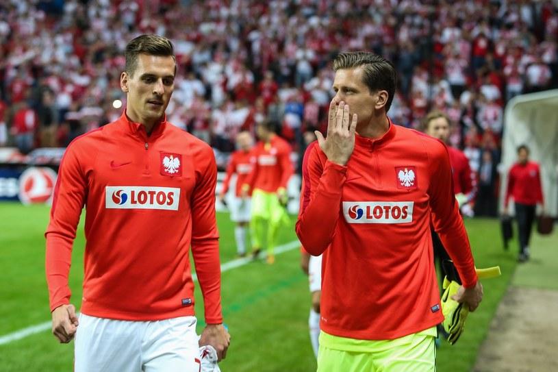 Wojciech Szczęsny (z prawej) i Arkadiusz Milik są krezusami /Fot. Tomasz Jastrzębowski Foto Olimpik/REPORTER /East News