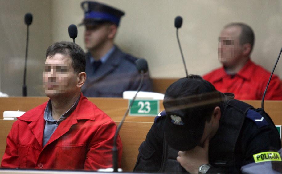 Wojciech W. i Tadeusz G. na ławie oskarżonych / Jacek Bednarczyk    /PAP
