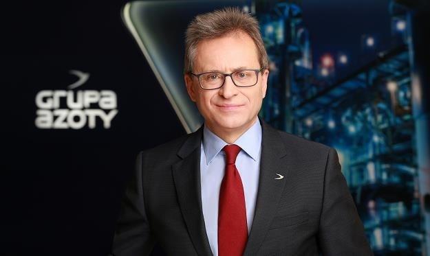 Wojciech Wardacki, b. prezes ZCh Police z Grupy Azoty /Informacja prasowa
