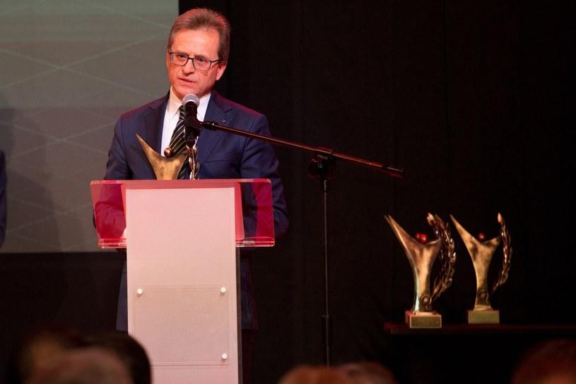 Wojciech Wardacki, prezes zarządu Grupy Azoty /Tomasz Jastrzebowski/Foto Olimpik /Reporter