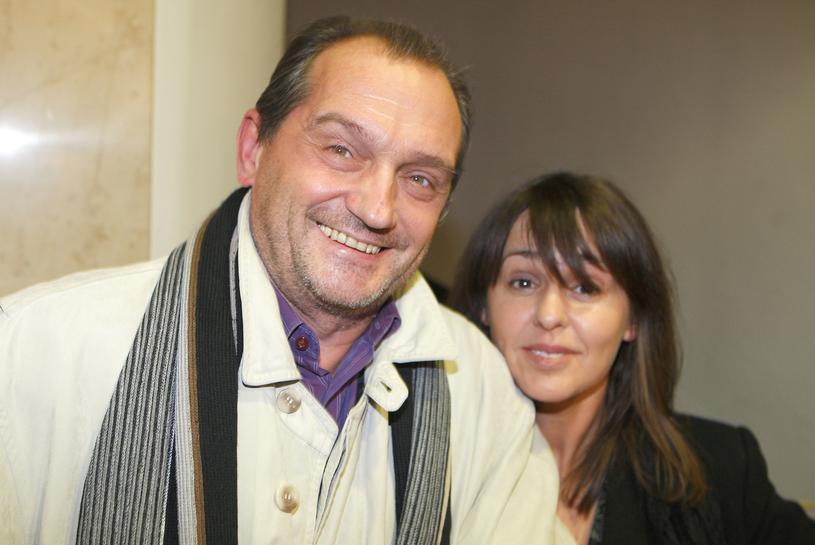 Wojciech Wysocki z żoną /Kurnikowski /AKPA