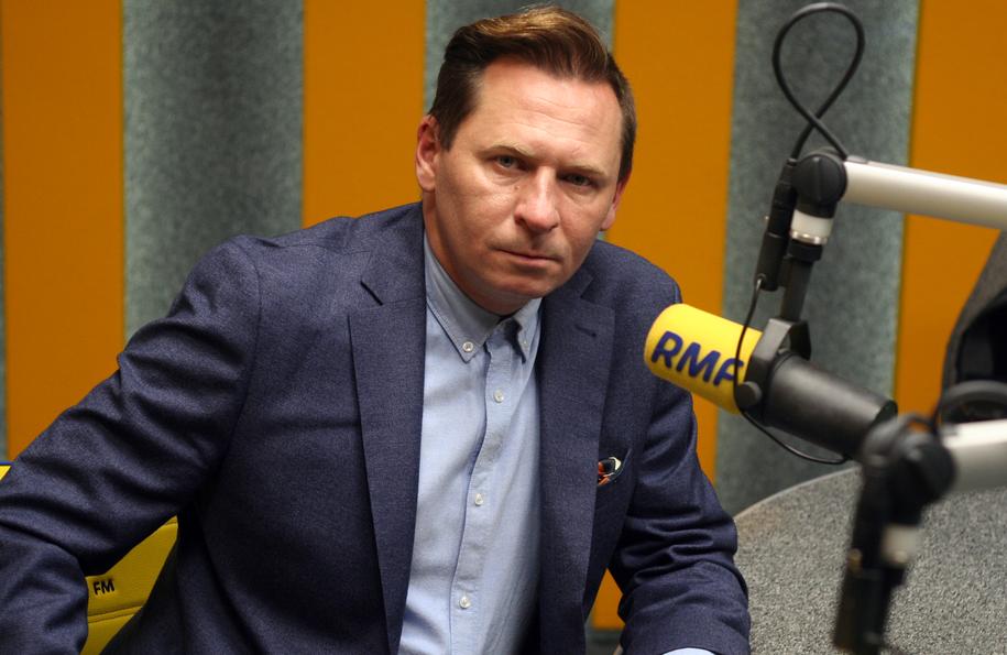 Wojciech Zabielski w studiu RMF FM /Maciej Nycz /RMF FM