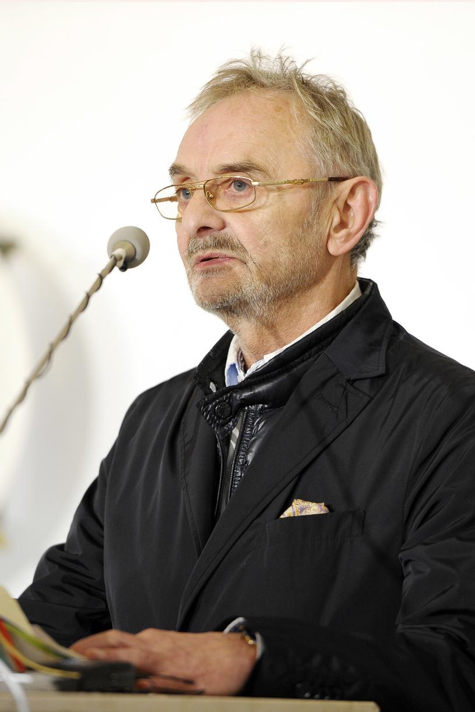 Wojciecha Pokorę żegnał między innymi aktor Jerzy Bończak /AKPA