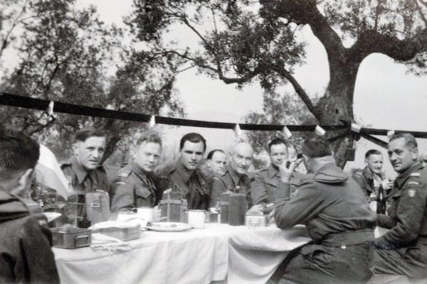 Wielkanoc w 12. Kompanii Geograficznej, Włochy 1944