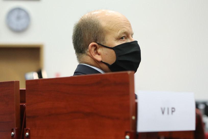 Wojewoda mazowiecki Konstanty Radziwiłł zakażony koronawirusem /Tomasz Jastrzębowski /Reporter