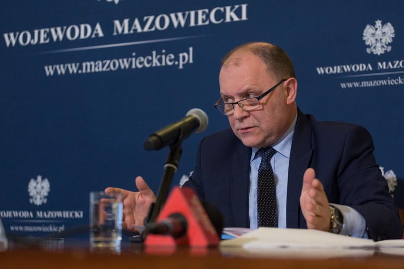 Wojewoda mazowiecki Zdzisław Sipiera /Mateusz Włodarczyk /Agencja FORUM