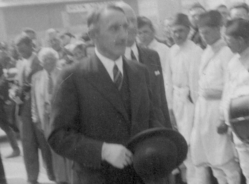 Wojewoda Wacław Kostka-Biernacki odpowiadał za organizację i nadzór nad miejscem odosobnienia w Berezie Kartuskiej /Z archiwum Narodowego Archiwum Cyfrowego