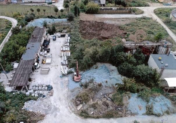 Wojewódzki Inspektorat Ochrony Środowiska – zdjęcie wykonane dronem we wrześniu 2020 roku /