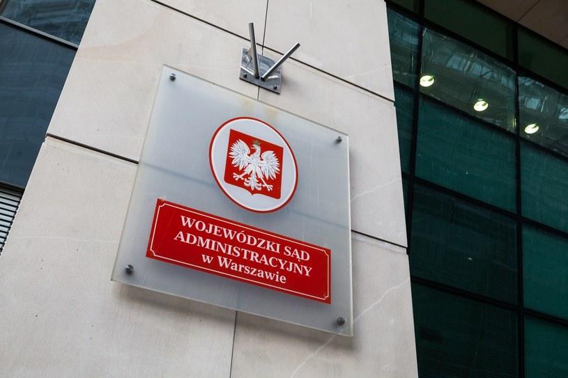 Wojewódzki Sąd Administracyjny w Warszawie /Adam Burakowski/REPORTER /East News