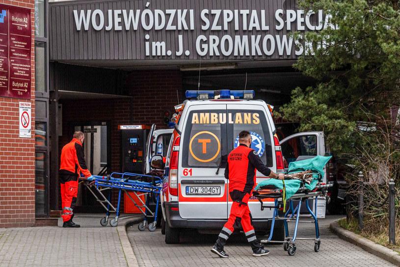 Wojewódzki Szpital Specjalistyczny im. J. Gromkowskiego we Wrocławiu /Krzysztof Kaniewski/REPORTER /East News