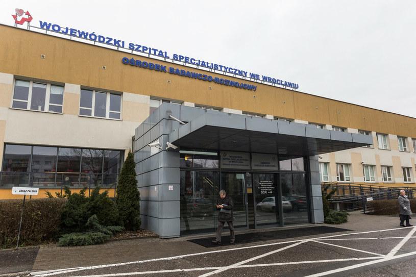Wojewódzki Szpital Specjalistyczny we Wrocławiu /East News