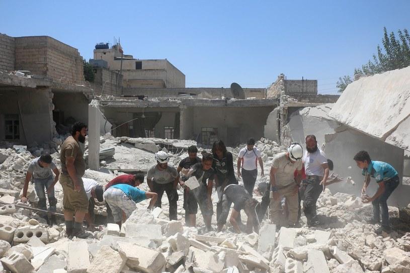 Wojna domowa w Syrii /East News