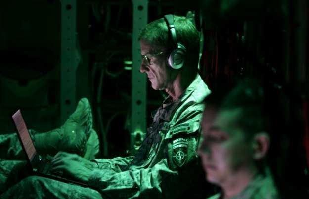 Wojna przeniosła się do cyberprzestrzenii - to nie ulega wątpliwości /AFP