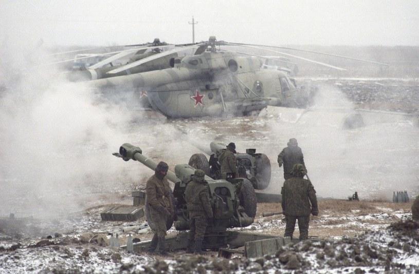 Wojna w Czeczenii była najczęściej fotografowaną wojną przez Krzysztofa Millera /Laski Diffusion /East News