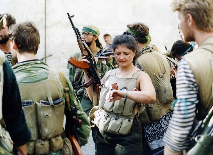 Wojna w Gruzji, gdzie Miller wracal kilka razy /Laski Diffusion /East News