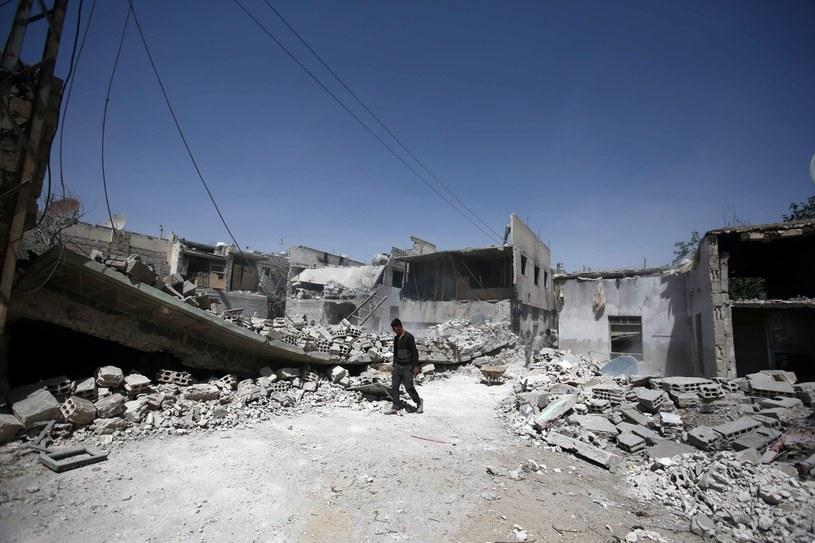 Wojna w Syrii, zdj. ilustracyjne /MOHAMMED BADRA /PAP/EPA