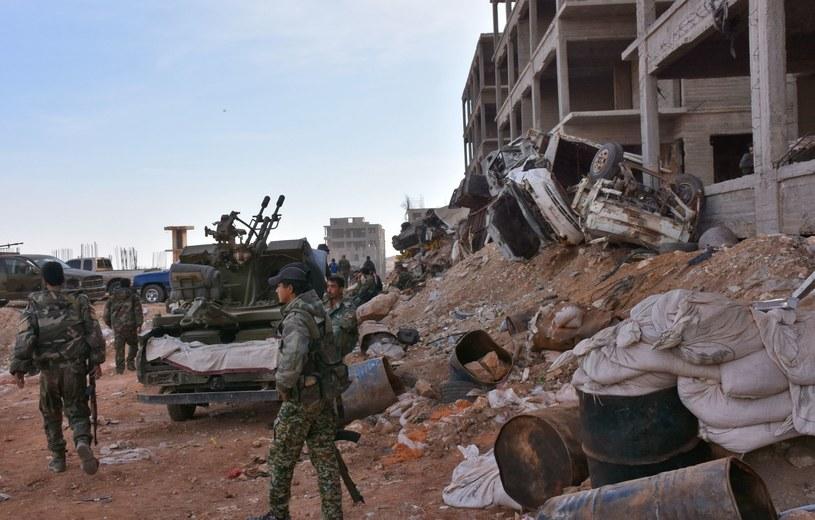 Wojna w Syrii /GEORGES OURFALIAN /AFP