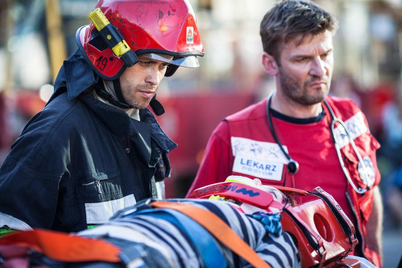 Wojnar ma intuicję, dzięki której jako strażak uratował już niejedno życie. /materiały prasowe