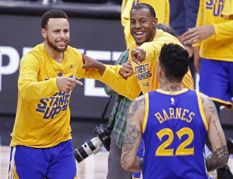 """""""Wojownicy"""" po raz trzeci z rzędu zagrają w finale NBA /PAP/EPA"""