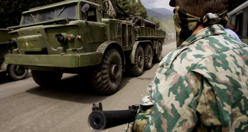 Wojska Federacji Rosyjskiej przejęły kontrolę nad Nowoazowski. /REUTERS/Vasily Fedosenko /AFP