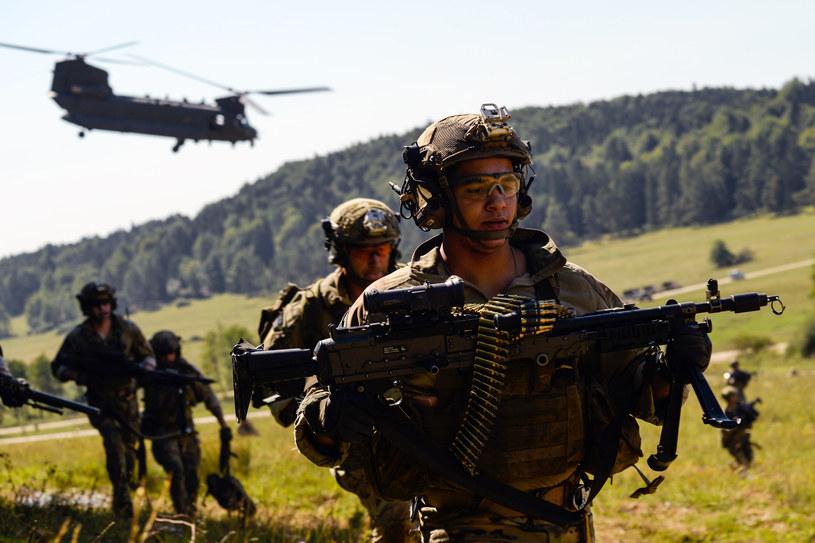 Wojska lądowe USA chcą przenieść dowództwo dywizyjne z Niemiec do Polski /Philipp Guelland /AFP