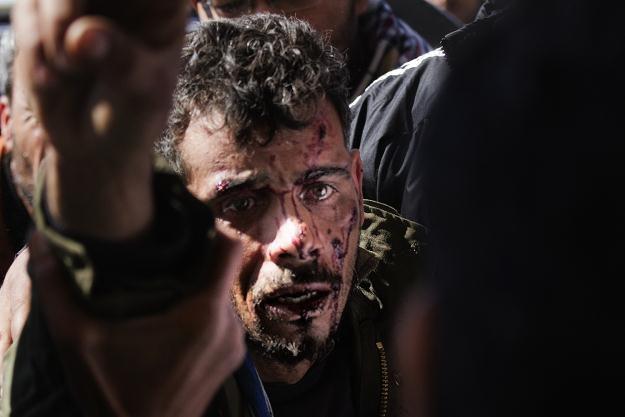 Wojska Muammara Kadafiego kontynuują ataki, mimo deklaracji o zawieszeniu broni /AFP