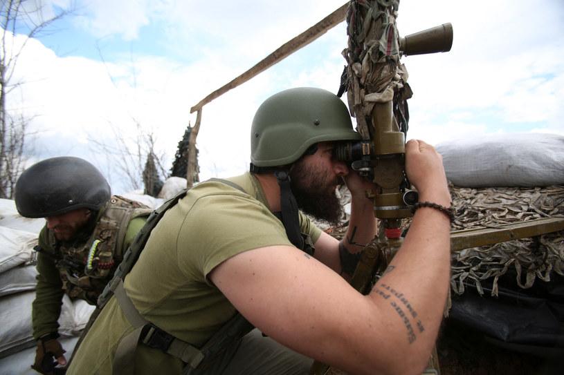 Wojska na granicy ukraińsko-rosyjskiej /ANATOLII STEPANOV /AFP