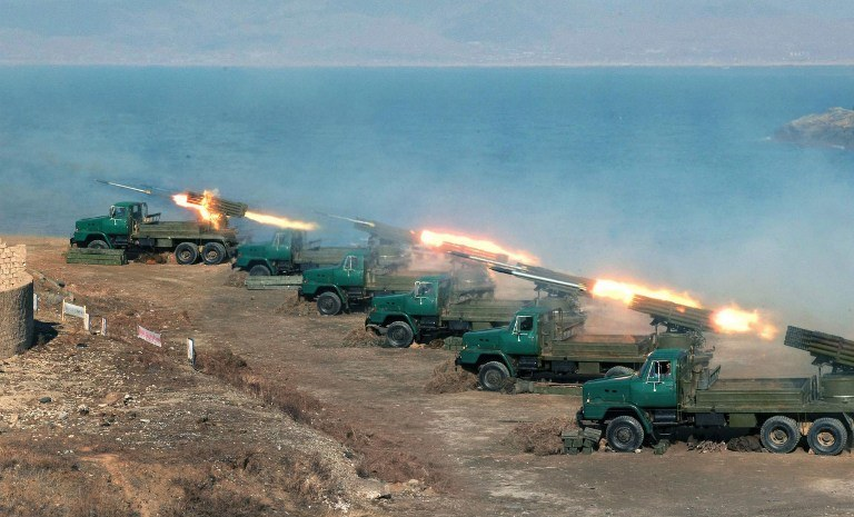 Wojska rakietowe Korei Północnej /AFP