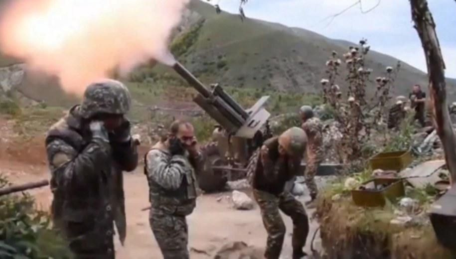 Wojsko Armenii /ARMENIAN DEFENCE MINISTRY HANDOUT /PAP/EPA