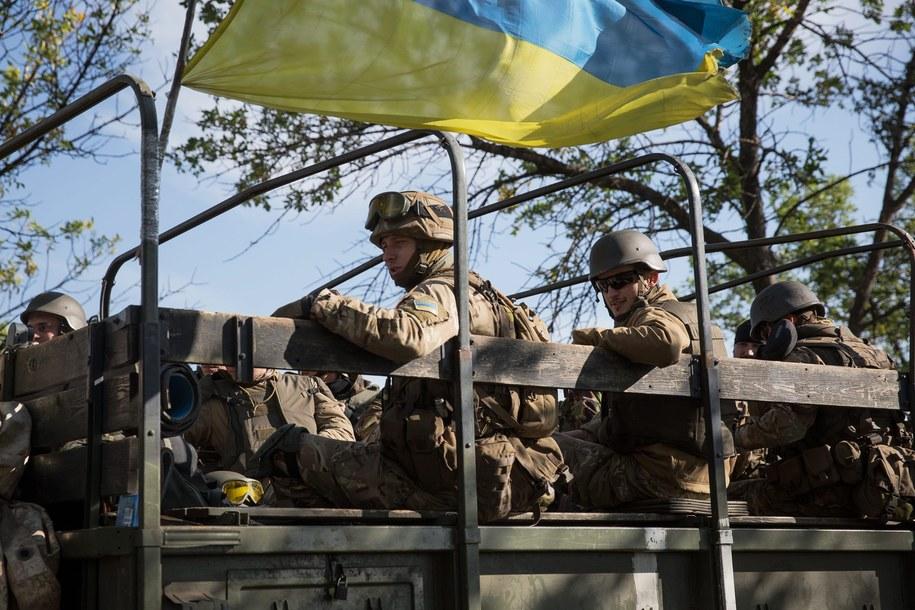 Wojsko ukraińskie /ROMAN PILIPEY (EPA/PAP) /PAP/EPA