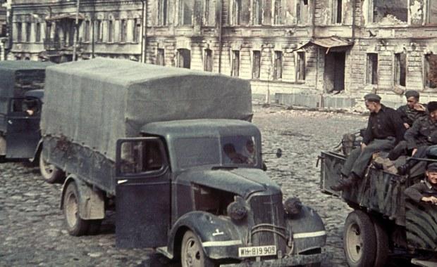 Wojskowe ciężarówki z II wojny światowej. Nowe odkrycie na Dolnym Śląsku?
