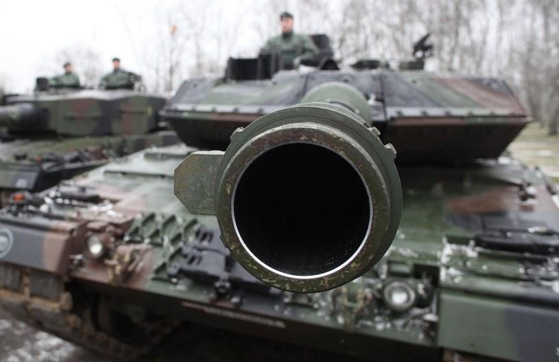 Wojskowy leopard /Stefan Maszewski /Reporter