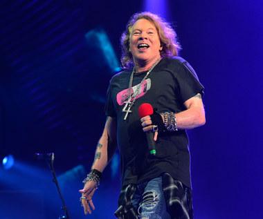 Wokalista Guns N'Roses sprzedaje koszulki obrażające Donalda Trumpa