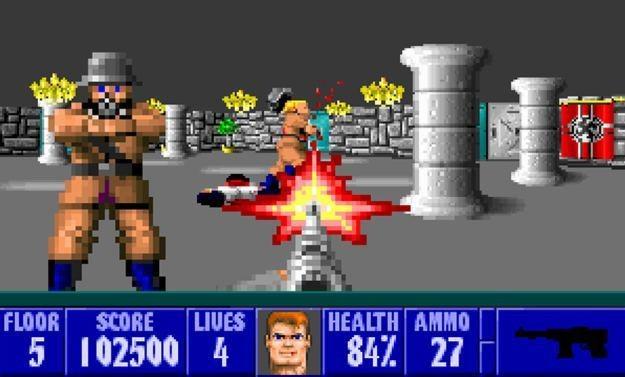 Wolfenstein 3D - motyw graficzny /Informacja prasowa