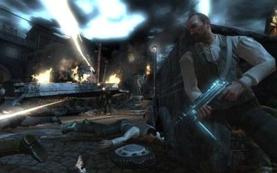 Wolfenstein - motyw z gry /Informacja prasowa