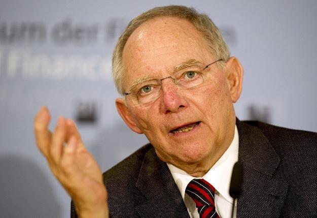Wolfgang Schaeuble twierdzi, że Mario Monti jest nadzieją dla Włoch i Europy /AFP