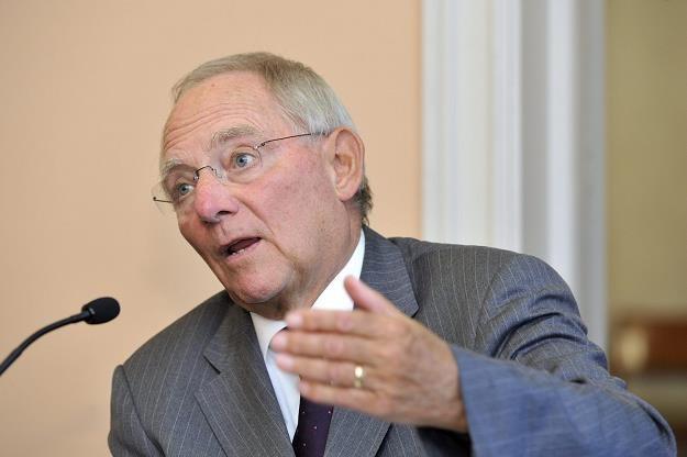 Wolfgang Schauble, minister finansów Niemiec /AFP