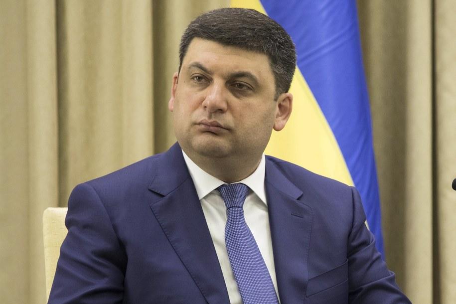 Wołodymir Hrojsman /ABIR SULTAN /PAP/EPA