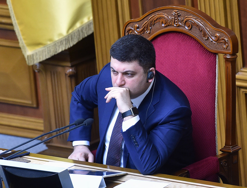 Wołodymyr Hrojsman /AFP