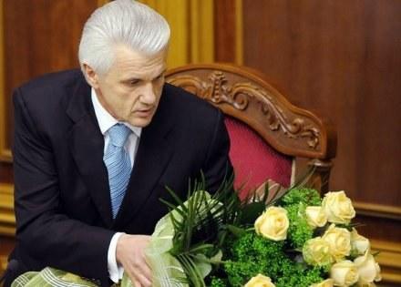 Wołodymyr Łytwyn, przewodniczący parlamentu Ukrainy /AFP