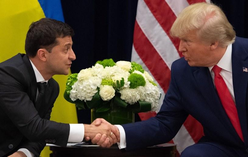 Wołodymyr Zełenski i Donald Trump /SAUL LOEB / AFP /East News